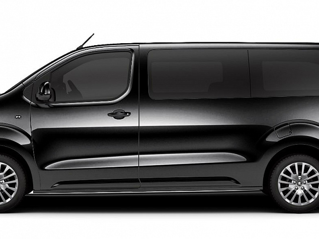 Citroen SpaceTourer BUSINESS LOUNGE XL черный
